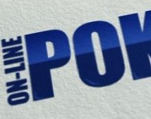 On line poker logo