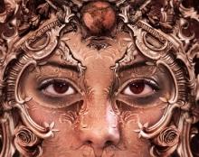 פני נוגה-כרזת אמנות מלוטשת