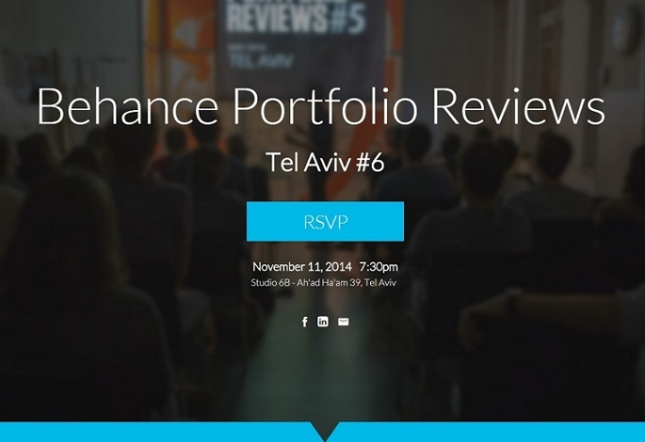 Behance Portfolio Reviews Tel Aviv #6