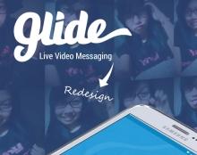 Glide app redesign