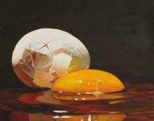 ציור שמן על בד בהזמנה אמנות ישראלית