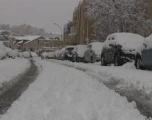 שלג בירושלים - דצמבר 2013