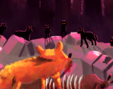 שועל וזאבים