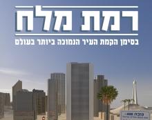 כרזה בנושא 100 שנים למדינת ישראל.