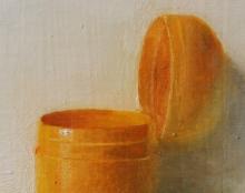 חלמון של ביצת קינדר אמנות ישראלית