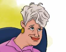איור דמות אישה