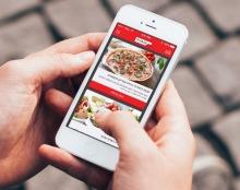 פיצה עגבניה - אפליקציית הזמנות לרשת הפיצה האיטלקית
