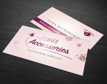 כרטיס ביקור למעצבת תכשיטים