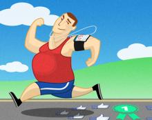 איור לפוסט במגזין פיקסל פרפקט: מקרה בוחן – איך Runkeeper עזרה לי