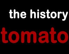 ההיסטוריה של העגבניות