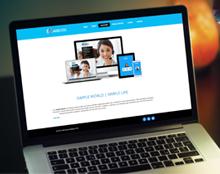 אתר תדמית לחברת AKB Internet Solutions