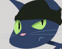 Catburglar- Illustration