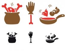 ספר בישול לקניבלים (פיקטוגרמות)