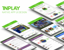 INPLAY sports fan messaging app