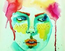 איורים בצבעי מים