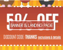 Banner and  Landing Page