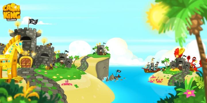משחק קריאטיבי: Cash King Islands