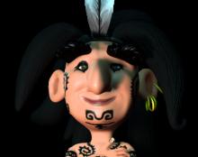 דמות מהסרט הקצר שאני עובד עליו