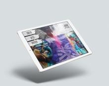 עיצוב אפליקציה לטאבלט בנושא גרפיטי בדימונה - בוצע במסגרת הלימודי