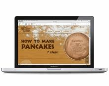 אתר - How to Make Pancakes