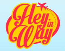 Logo + Iphone App Hey in Way