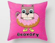 Sprinkle donut pillow