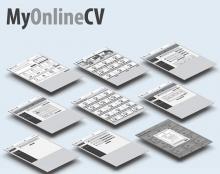 (My online CV (Wireframes