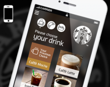 Starbucks Corporation /// App for pay now & collect later