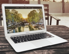 Holland onepage website