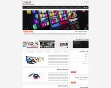 Dteam עיצוב אתר