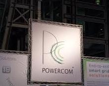 עיצוב גרפי עבור ביתן Powercom