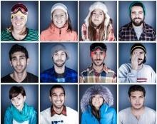 צילום תדמית של צוות העובדים לחברת סקי-פס