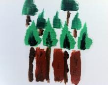 לוגואים עבודת יד-צבע שמן-סיגל צלביאנסקי-מנחם