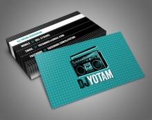עיצוב כרטיסי ביקור שונים