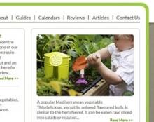 garden action - עיצוב אתר
