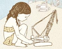 איור ללוח שנה | עבור ב.ס.ט. ועמותת לצאת מהקופסה
