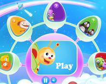 Baby T.V. website design