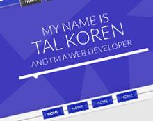 עיצוב אתר -  Tal Koren