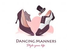 לוגו סטודיו לריקוד ונימוסים / Dancing Manners