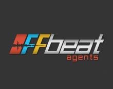 לוגו להרכב Offbeat agents הרכב מוזיקאלי
