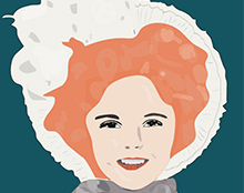 Shirley Temple Ilustration