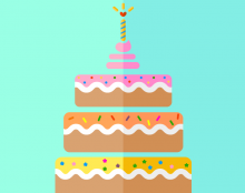 Bday cake icons