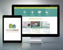 HomeMax | מיתוג ועיצוב אתר לסוכנות נדלI