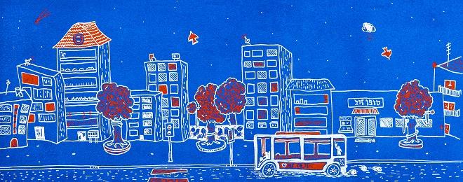 טאמבלר חיפאי לשבוע האיור בתל אביב