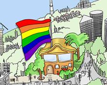 איור / מצעד הגאווה 2008