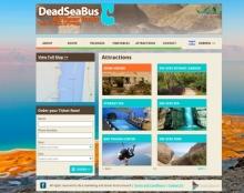 דדסי באס - עיצוב אתר לשירותי שאטל