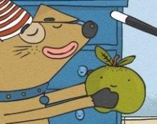 מסתורי האוכל הכחול - ספר ילדים לאייפד
