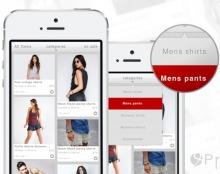 Facebook catalog app