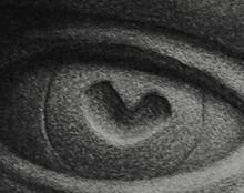 עין ריאליסטית רישום