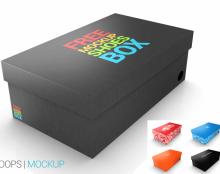 ShoesBOX mockup